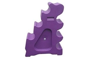 Classic Showjumps Pro-Jump Sloping Block (One Size) (Purple)