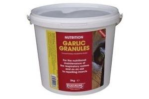 Equimins Garlic Granules x 900 Gm Tub - Horse Supplement Respiratory