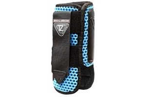 equilibrium Tri-Zone Impact Sports Boot -Azure Blue-Small-Front