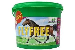 Global Herbs Unisex's Flyfree, Clear, 1 kg
