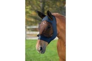 Roma Stretch Eye Saver With Ears Navy/Black Pony