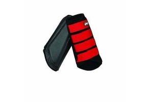 ROMA NEOPRENE BRUSHING BOOTS BLACK/BRIGHT RED PONY