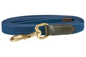 Kincade Leather Web Leadrope Navy/Brown
