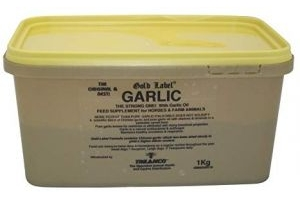 Gold Label Horse supplement, Garlic