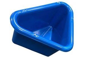 Stable Kit Unisex's Corner Manger, Blue, Regular