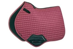 LeMieux ProSport Suede Close Contact Square - French Rose: Large