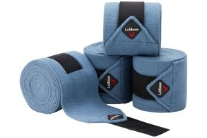 LeMieux Luxury Polo Bandages Ice Blue
