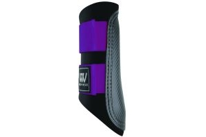 Woof Wear Club Brushing Boots Ultra Violet