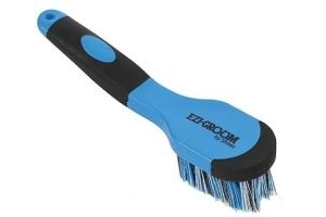 Shires Ezi-Groom Bucket Brush Blue