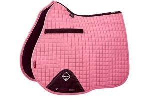 LeMieux Unisex's ProSport Suede GP Square Saddlepad, Blush Pink, Large