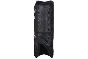 LeMieux Stealth Shoc XC Boots (Front) - Black, Small