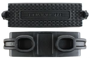 Shires Child Compositi Premium Profile Treads Black