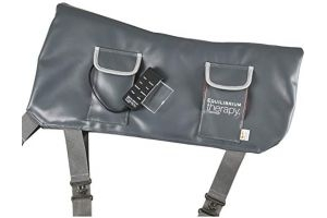 equilibrium Unisex's Therapy Massage Pad, Grey, One Size