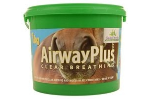 Global Herbs Unisex's Airway Plus, Clear, 1 kg
