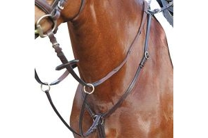 Kincade Hunter Breastplate Brown Warmblood