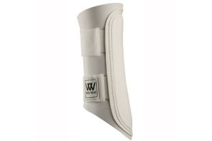 Woof Wear Club Brushing Boot -White, Small by Woof Wear
