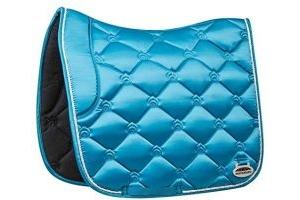 Weatherbeeta Regal Luxe Full Size Dressage Saddle Pad - Turquoise Duke