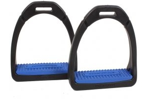 Shires Adults Compositi Premium Profile Stirrup Royal Blue