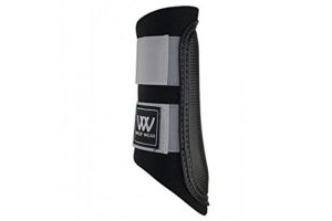 Woof Wear Club Brushing Boots Black/Grey Large