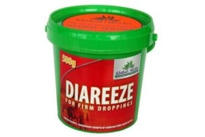 Global Herbs Diareeze Horse Diarrhea Supplement x Size: 500 Gm