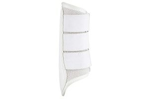 LeMieux Mesh Brushing Boots - White, Large