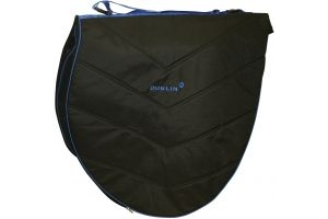 Dublin Imperial Saddle Bag Black/Blue
