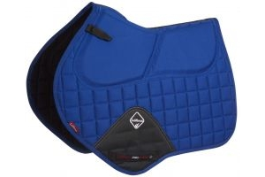LeMieux Prosorb Plain Close Contact Jumping Square Benetton Blue