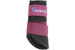 Arma Neoprene Brushing Boots Plum