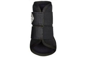 Lemieux Pro Sport Mesh Brushing Boots - Black - Large
