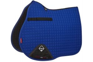 LeMieux ProSport GP/Jump Square Saddle Pad Benetton Blue