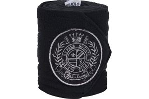 HV Polo Favouritas Fleece Bandages (Set Of 4): Black