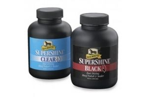 Absorbine SuperShine Hoof Polish & Sealer Black 237ml