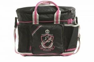 Hy Shine Pro Grooming Bag - Black/Pink/Grey