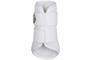 Lemieux Pro Sport Mesh Brushing Boots - White - Medium