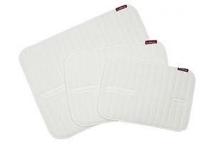LeMieux Memory Foam Bandage Pads Medium White