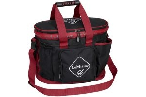 LeMieux Grooming Bag Black/Red