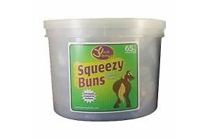 Uncle Jimmys Squeezy Buns - 12 x 65 PACK [UJB0055]