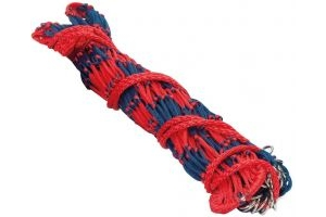 Shires Deluxe Hay Net Navy/Red