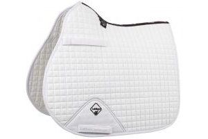 LeMieux ProSport GP/Jump Square Saddle Pad White