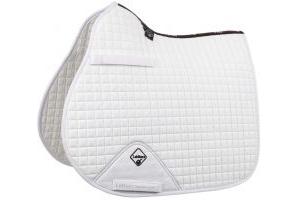 LeMieux ProSport GP/Jump Square Saddle Pad White