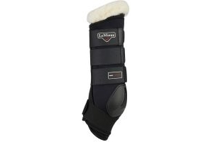 LeMieux Merino+ Protector Boots Black/Natural