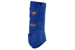 LEMIEUX PROSPORT SUPPORT BOOTS BENETTON BLUE HORSE SCHOOLING COMPETITION SUITABLE FRO FRONT AND HIND LEGS (LARGE)