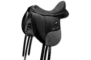 Wintec Isabell Dressage Saddle with CAIR BLACK 17.5