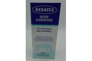 Keratex Hoof Hardener Horse Equine Hoof Protection Stronger Horns 250ml