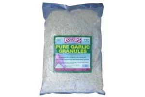 Equimins Garlic Granules x Size: 3 Kg Refill Bag
