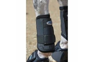 WEATHERBEETA EVENTING FRONT BOOTS BLACK FULL
