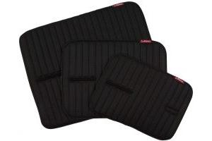 LeMieux Memory Foam Bandage Pads Black
