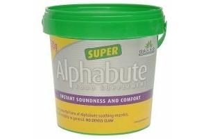 Global Herbs Super Alphabute Food Supplement Unisex Horse Winter Muscles