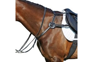 Kincade Leather 5 Point Breastplate Black