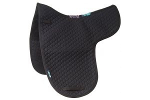 Griffin NuuMed HiWither Half Wool Dressage Numnah Medium Black